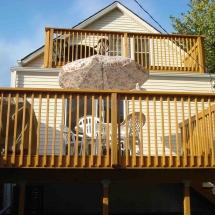 Balcony remodel
