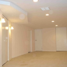 Basement remodeling and finishing