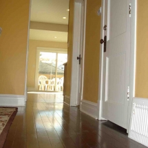 wood flooring and doors