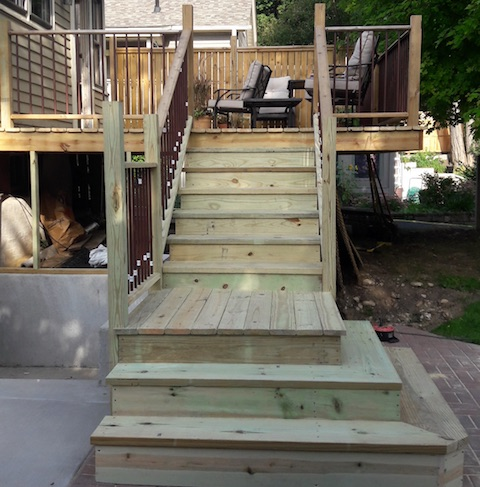 Renovation of Decks