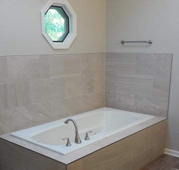 Bathroom remodel in Naperville, IL, 2017
