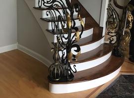 Custom stairway, 2017