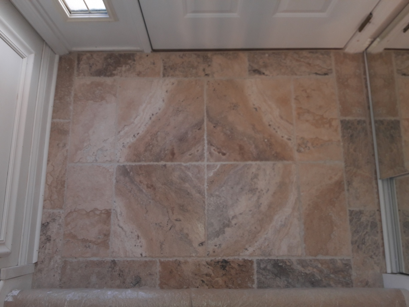 Foyer tile in Woodridge, IL